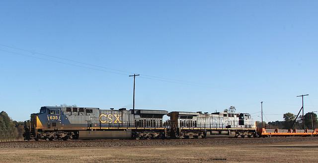 Some CSX General Electric Diesels