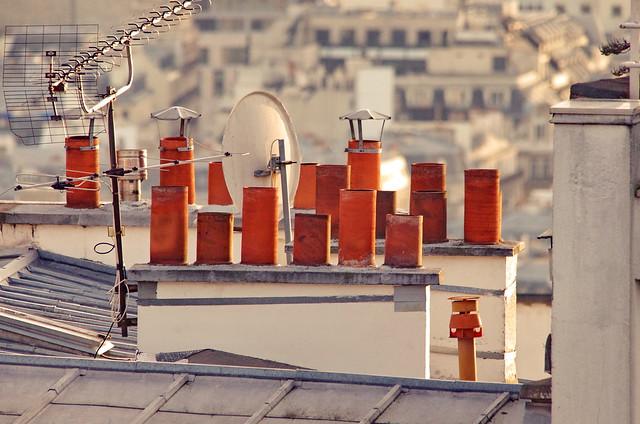 130 Paris Janvier 2020 - les toits de Paris depuis la Butte Montmartre