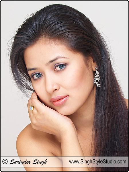 Indian Beauty : Female Model Portfolio Photographer in Delhi Noida Gurgaon India