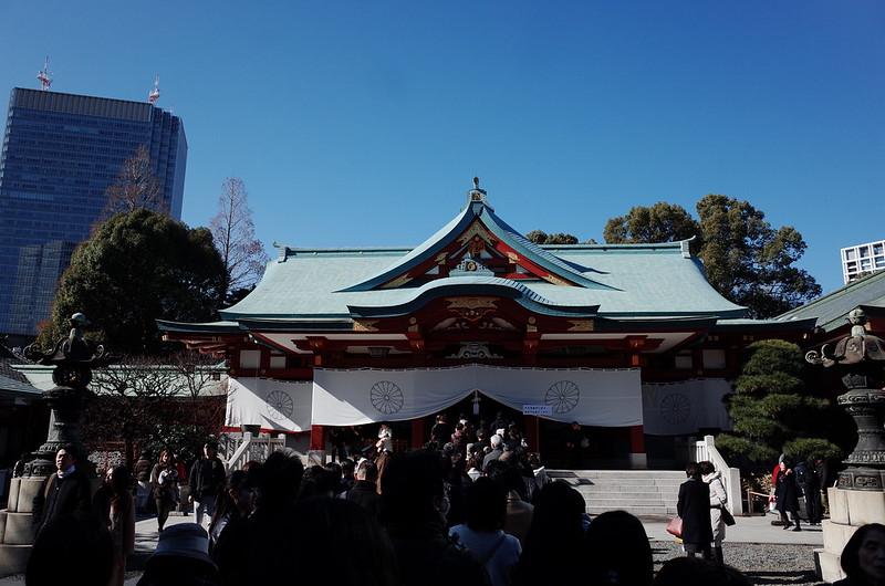 永田町二丁目日枝神社本殿