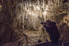 John in Carlsbad Caverns