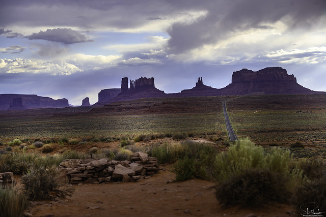 Monument Valley view - Utah - USA