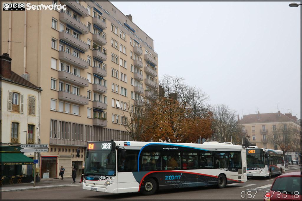 Heuliez Bus GX 337 – STAC (Société de Transport de l'Agglomération Chalonnaise) (Transdev) / Zoom n°2172