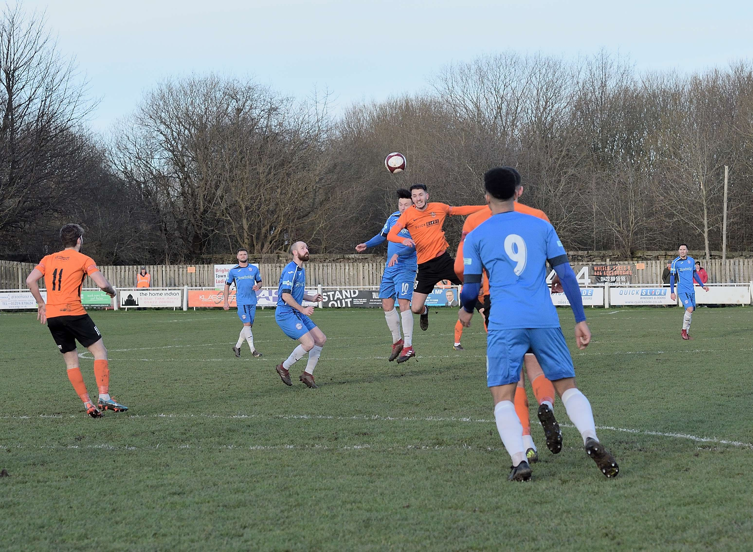 Brighouse 2 Rams 3 - Match Action