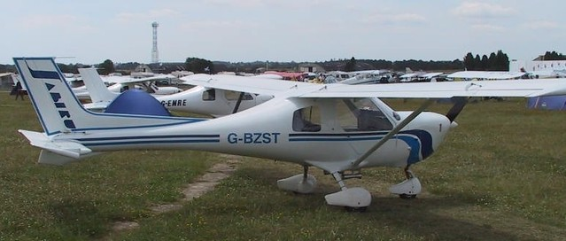 G-BZST at Kemble