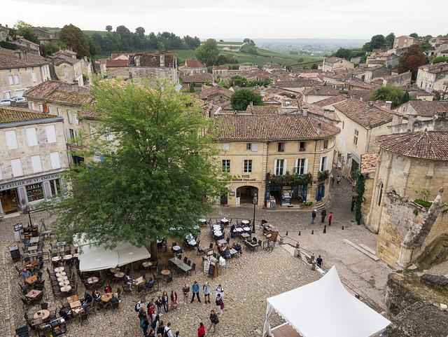 Central Place of Saint-Emilion