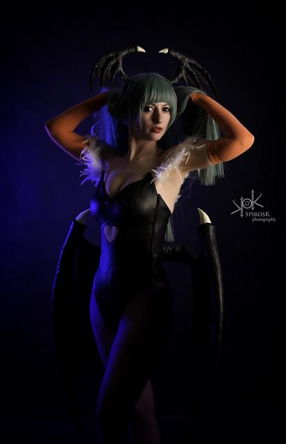 Doriana as Morrigan from Darkstalkers (Low Key II)