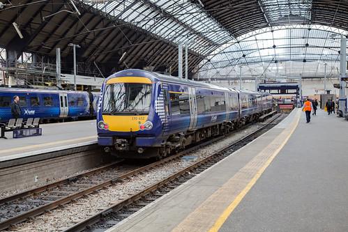 Scotrail 170 452 Glasgow Queen Street