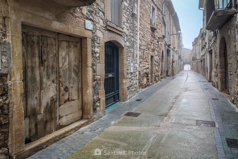 Carrer del Portal de Mas de Bondia