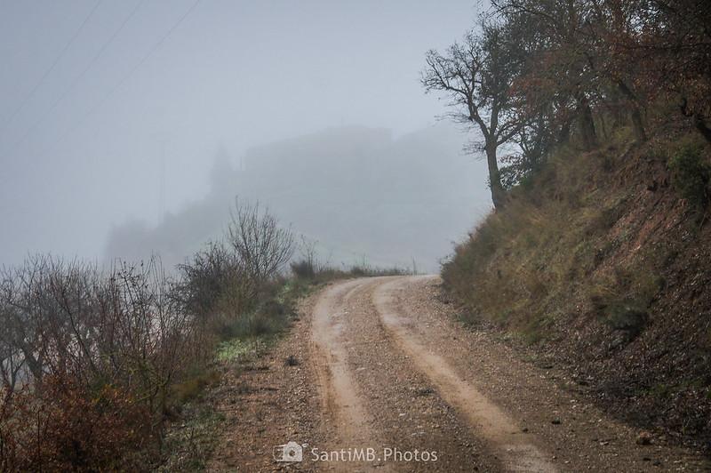Camino a Mas de Bondia