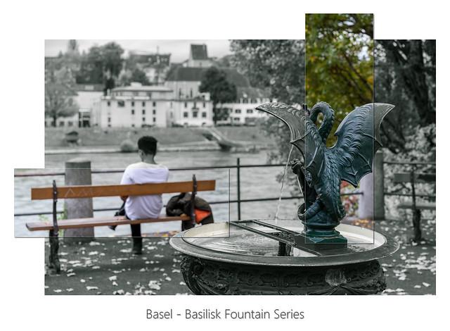 Basel - Basilisk Fountain Series
