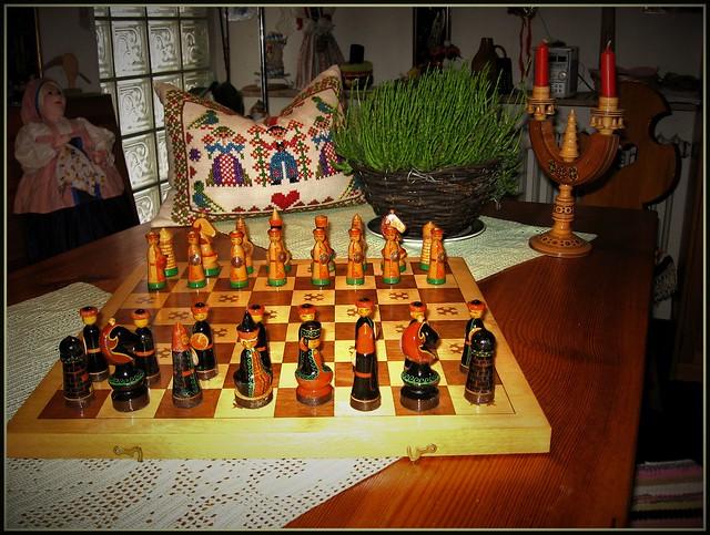 Stilleben - 💖- das königliche Spiel - 😘 - Erinnerung an unseren beruflichen Aufenhalt in Moskau !