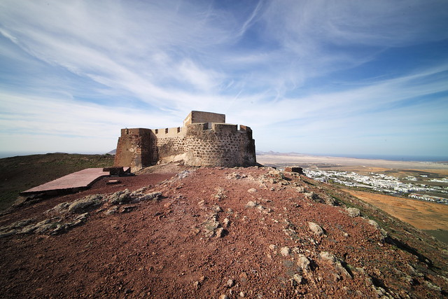 Castle of Santa Barbara, Islas Canarias, Spain, January 2020 017