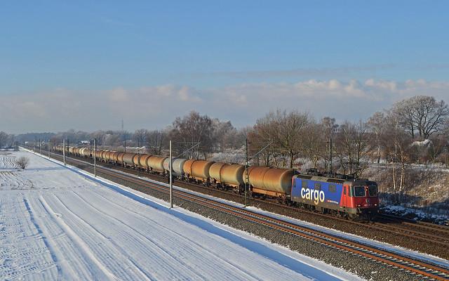 HSL SBB Cargo Re 421 397-1 - Bardowick