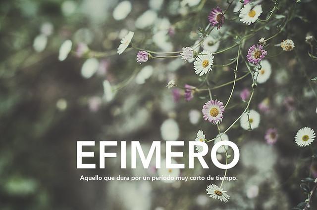 Efímero