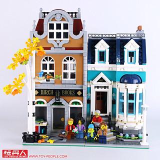 令人陶醉的古典歐風! LEGO 10270 創意系列【書店】Creator Expert Bookshop 開箱報告
