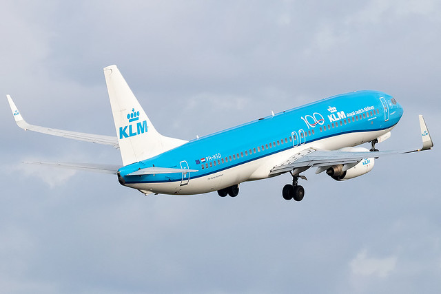 PH-HSD KLM Royal Dutch Airlines B737-800 Amsterdam Schiphol