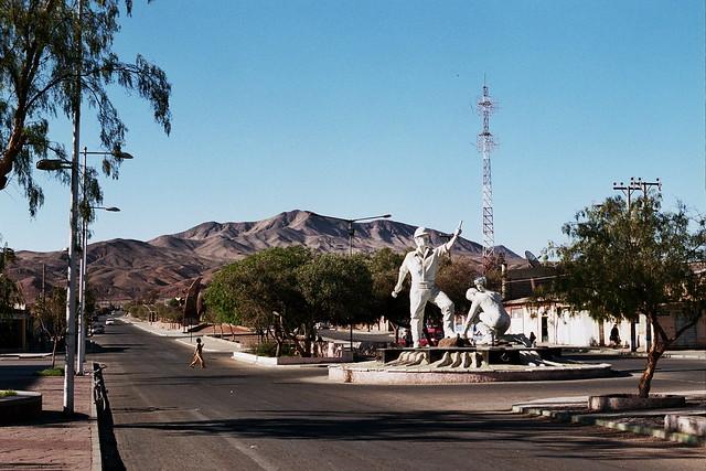 CHILE 2008 - Diego de Almagro / Monumento al minero