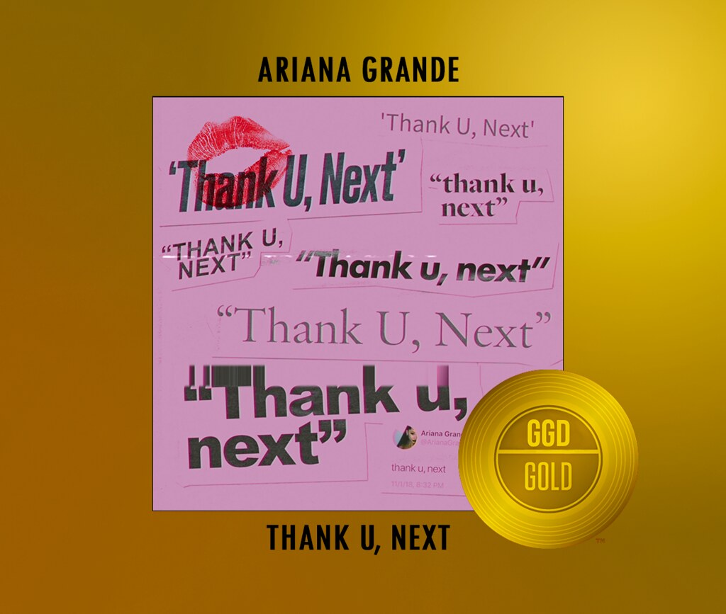 THANK U, NEXT GOLD