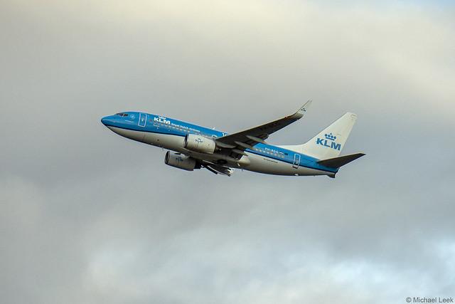KLM Boeing 737-7K2, PH-BGG; Heathrow Airport, London, England
