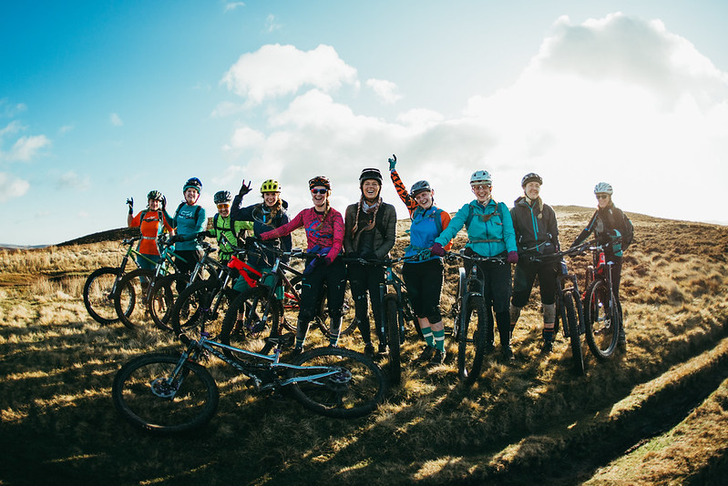 Cotic Women of Steel, steel, full suspension, mtb, cotic, womencycling, cycling, enduro, reynolds 853, peak district, winter ride, mountain bike ride, riding group, cycling club, adventure
