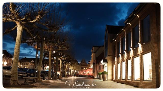 Xanten by night