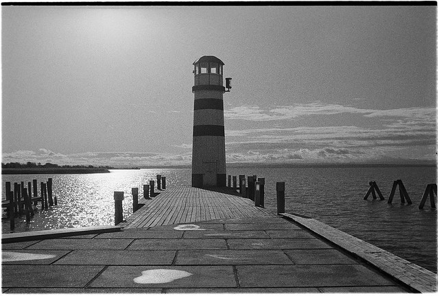 Lighthouse at Neusiedl am See