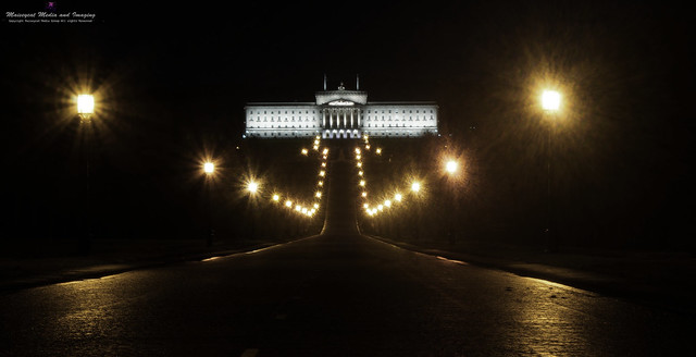 Parliament buildings Prince Charles way Belfast.