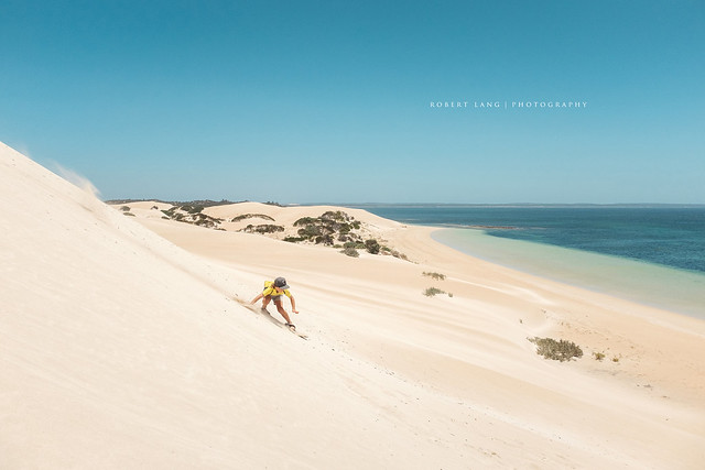 Sandboarding, Coffin Bay National Park