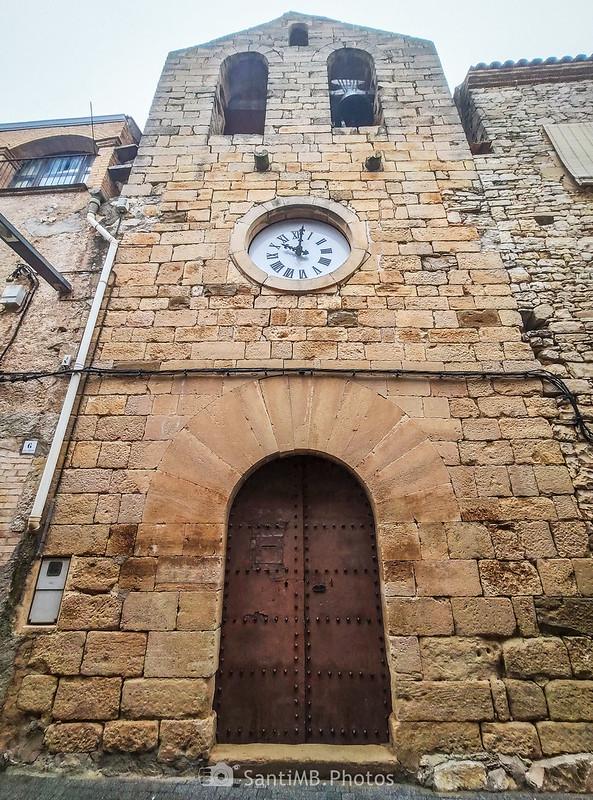 Iglesia de Sant Bartomeu en Mas de Bondia