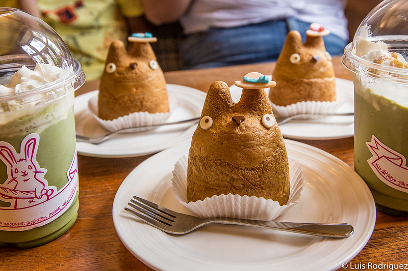Pastelitos de Totoro en Shimokitazawa