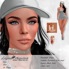 """Lupus Femina"" Henrietta Shape - Lelutka Nova Head - Legacy"