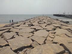 Rocky beach_Pondichery!