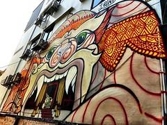 #streetart along our #bangkok #urbanhike