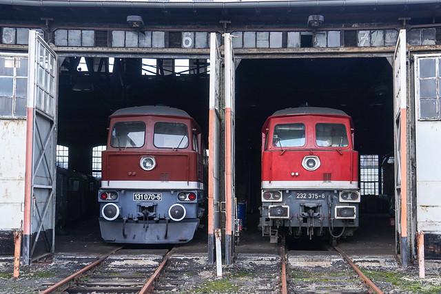 131 070 / 232 375  Bernd Falz | Falkenberg (Elster) ob. Bahnhof | Januar 2020