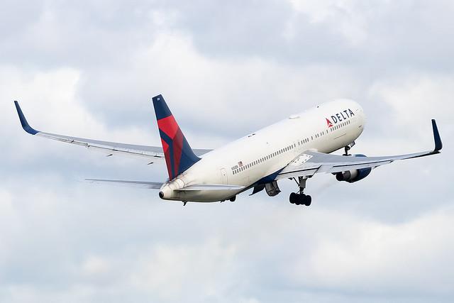 N186DN Delta Airlines B767-300 Amsterdam Schiphol