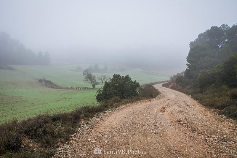 Camino de Mas de Bondia a Guimerà