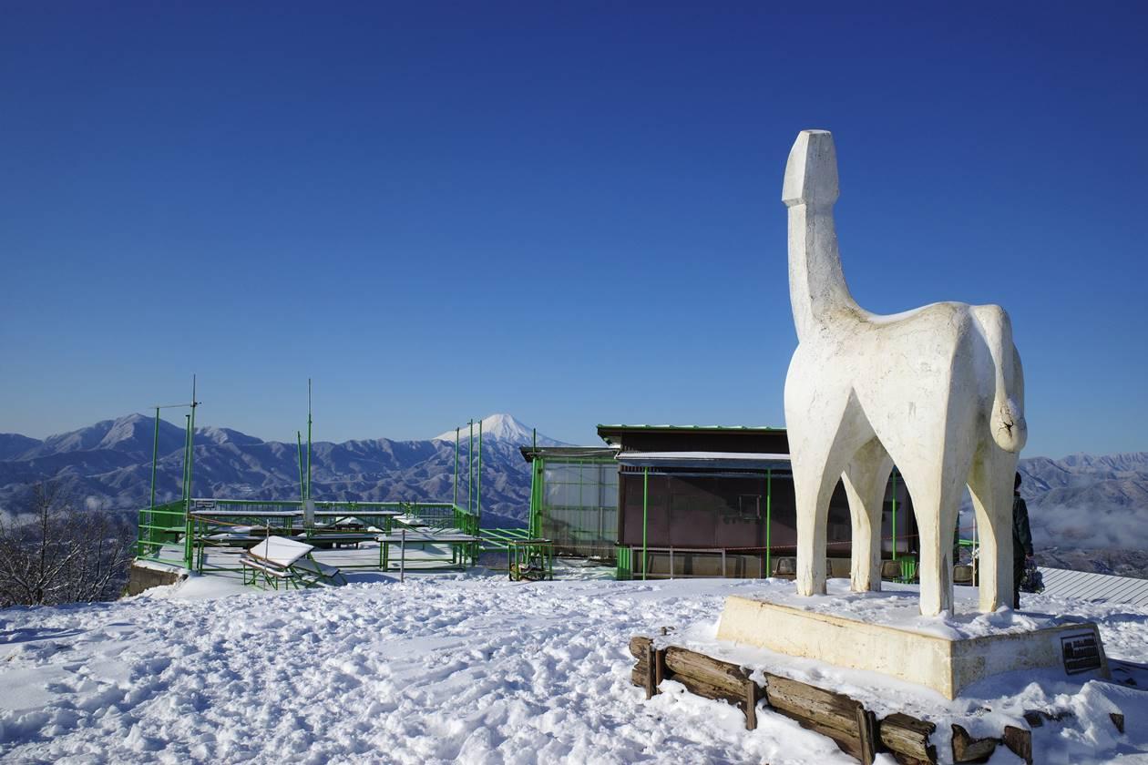 富士山と陣馬