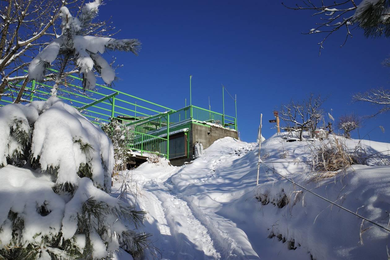 冬の陣馬山