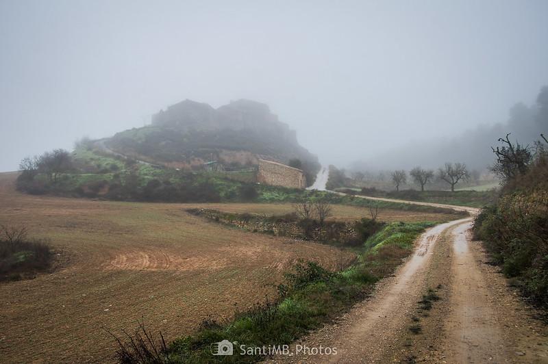 Llegando a Mas de Bondia