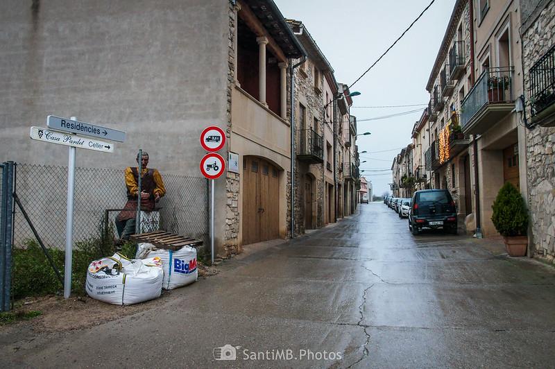 Saliendo de Verdú hacia el camino de Guimerà