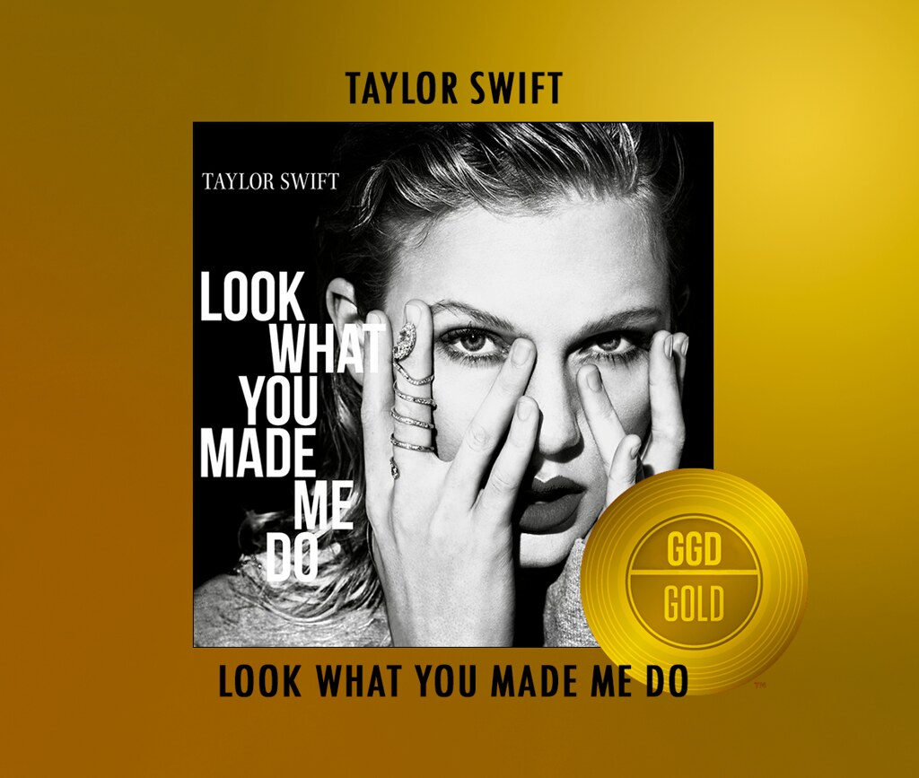 LOOK WHAT YOU MADE ME DO GOLD