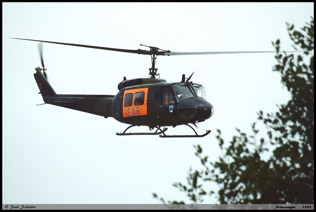 UH1 D 70+76 8136 LRG61 Memmingen septembre 1999