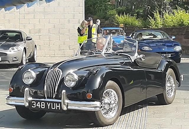 1955 Jaguar XK140_Hales Street_Coventry_Jun19