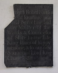 Robert Naunton: 'somtime Principal Secretarie and after Maister of the Wards & Councellor of State to our late King James of happy memorie, & to our now soverain Lord King Charles etc' (1635)