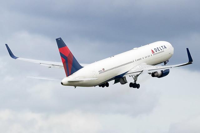 N191DN Delta Airlines B767-300 Amsterdam Schiphol