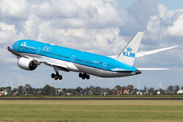 PH-BHO KLM Royal Dutch Airlines B787-9 Dreamliner Amsterdam Schiphol
