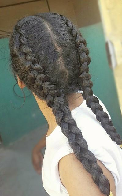 تسريحة الضفيرتين  تسريحة الضفائر المزدوجة  تسريحة الضفائر الهولندية المزدوجة  French braids  Double braids  Double dutch braids  Long braids  Braided hair  #hair    #style #stylish #longhair #nice #hairstyle #fashion #beautiful #beauty #model #modern #sex