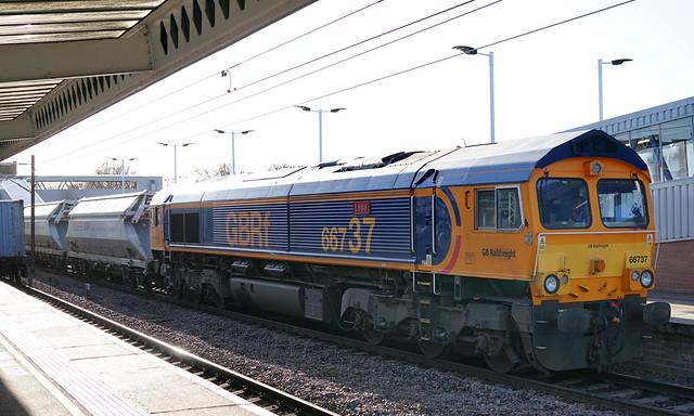 GB Railfreight 66737 - Peterborough
