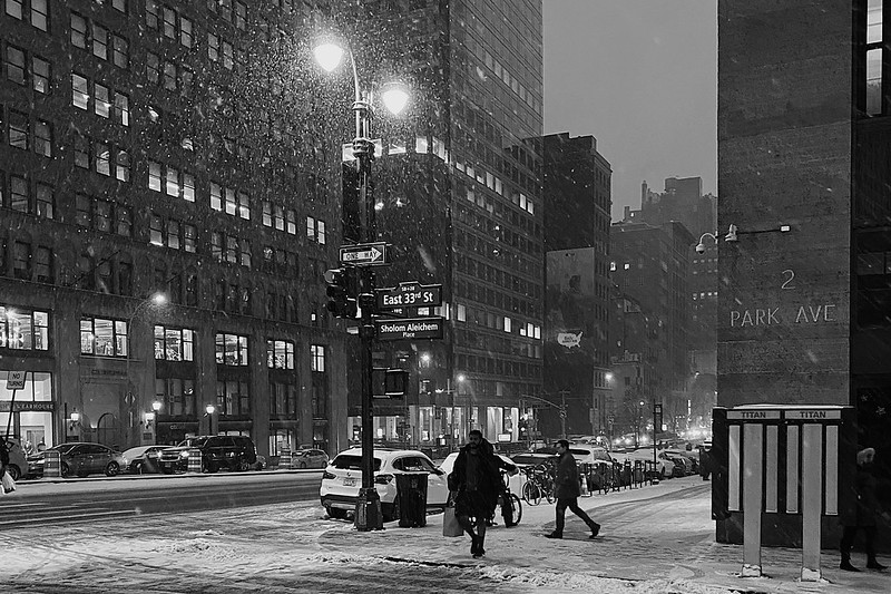 Winter in NYC • Murray Hill